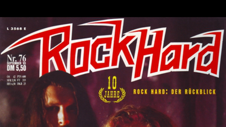 Rock Hard No. 76 Sep. '93