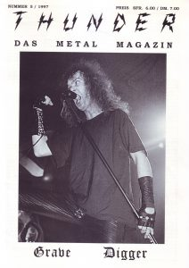 Cover Thunder - Das Metal Magazin 5/97