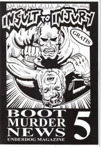Cover Boot Murder News 5