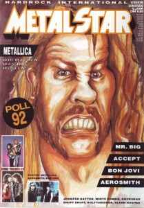 Cover Metal Star 03/1993