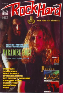 Cover Rock Hard Nr. 76 September '93