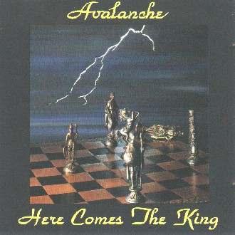 CD Cover: Avalanche - Here Comes The King