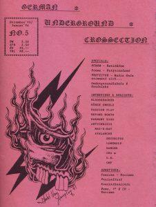 Titel German UndergroundCrossection No. 5